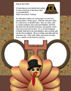 free thanksgiving cookbook for kids children scrapbook