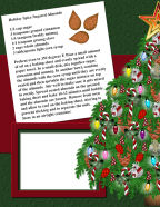 free christmas scrapbook papers holiday